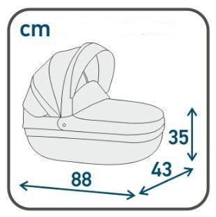 Люлька коляска Rosa